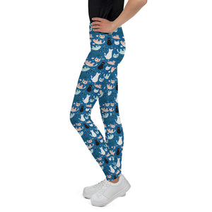 cats-blue-green-black-white-cream-youth-leggings-shop