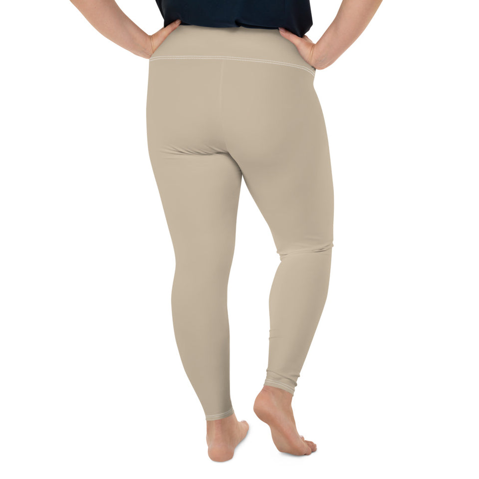 neutral-sand-beige-plus-size-leggings