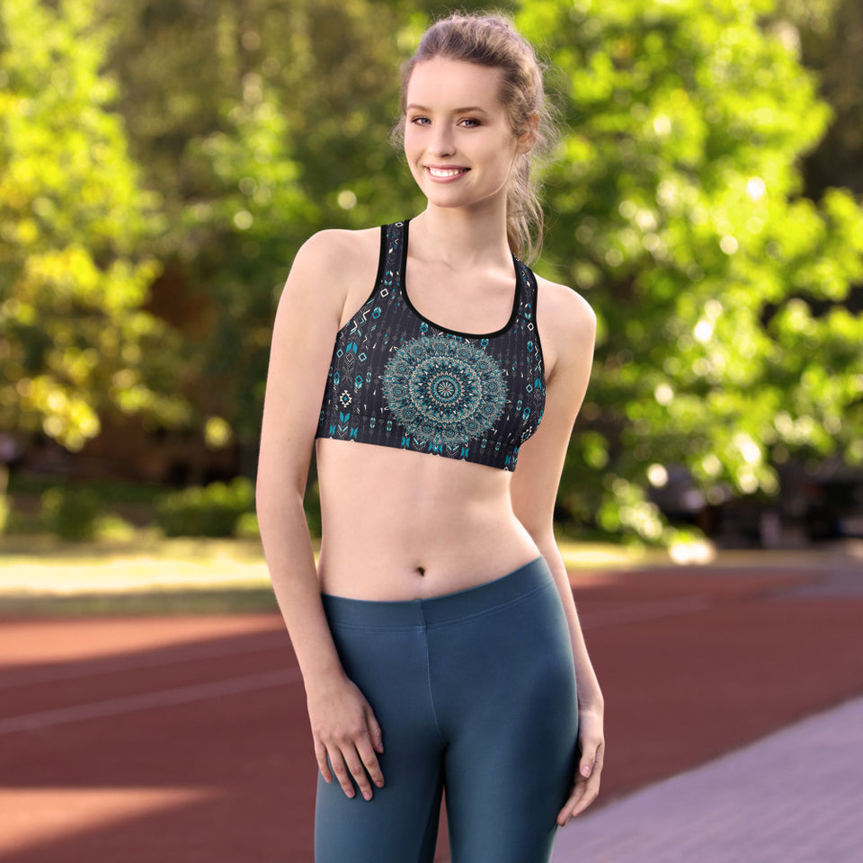 aztec-mandala-geometric-navy-blue-jade-green-padded-sports-bra-shop