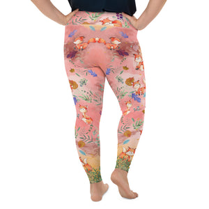 fox-plus-size-leggings-women
