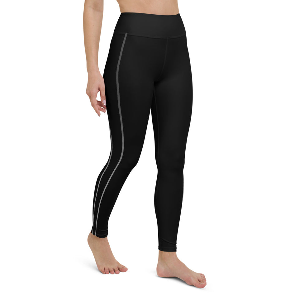Sporty Stripes II Dark Yoga Leggings