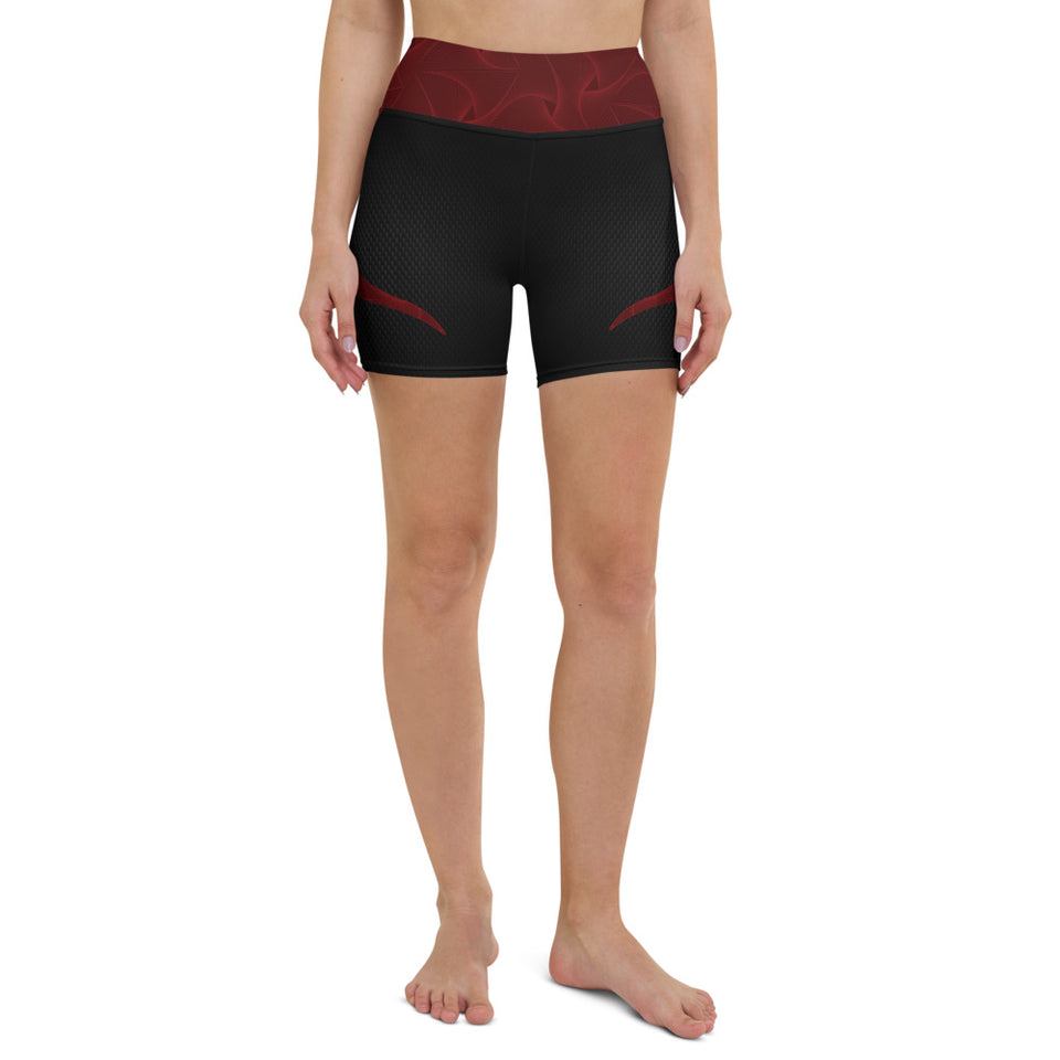 Sporty Devil Yoga Shorts