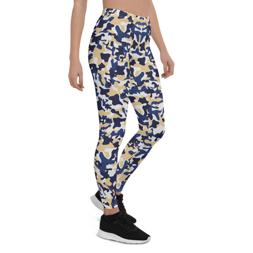 Contrast Camo Urban Leggings