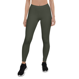 woman-chic-olive-green-leggings-all-the-time