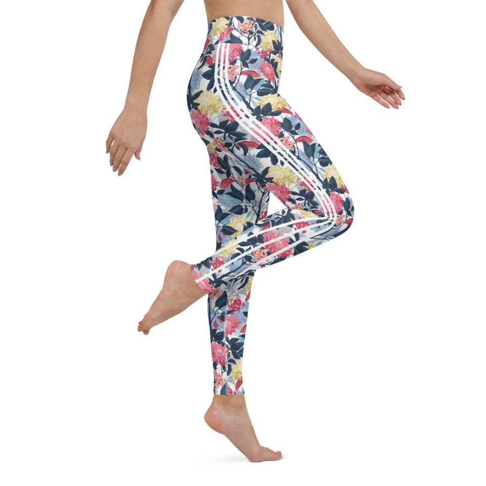 Japanese Forest Yoga Leggings