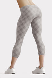 Modern Argyle Urban Capri Leggings