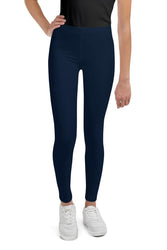 neutral-elegant-navy-blue-youth-leggings
