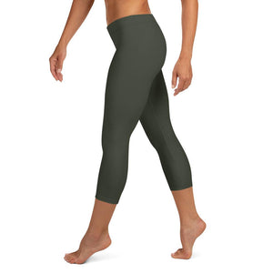shop-women-olive-green-capri-leggings