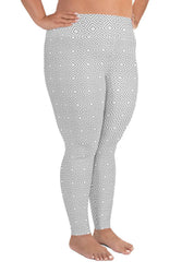 clarity-geometric-white-grey-elegant-chic-plus-size-leggings