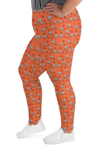 not-so-tribal-elephants-africa-cute-women-plus-size-leggings