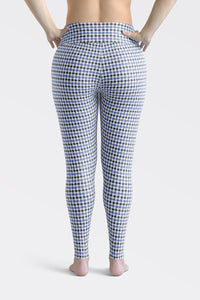gingham-blue-grey-white-elegant-classic-women-plus-size-leggings-1