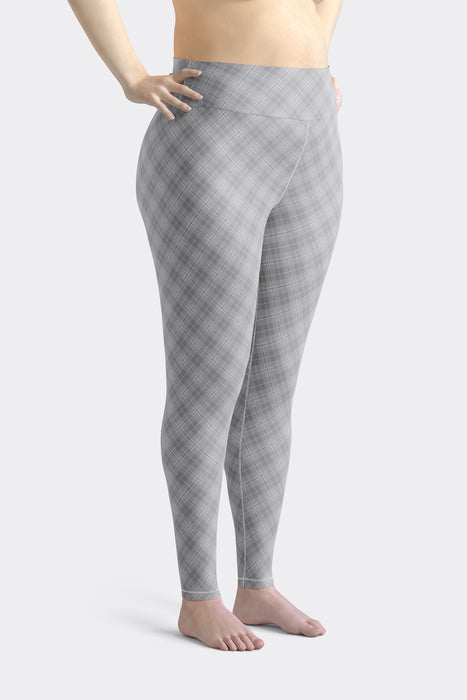 Modern Argyle Super Curvy  Leggings