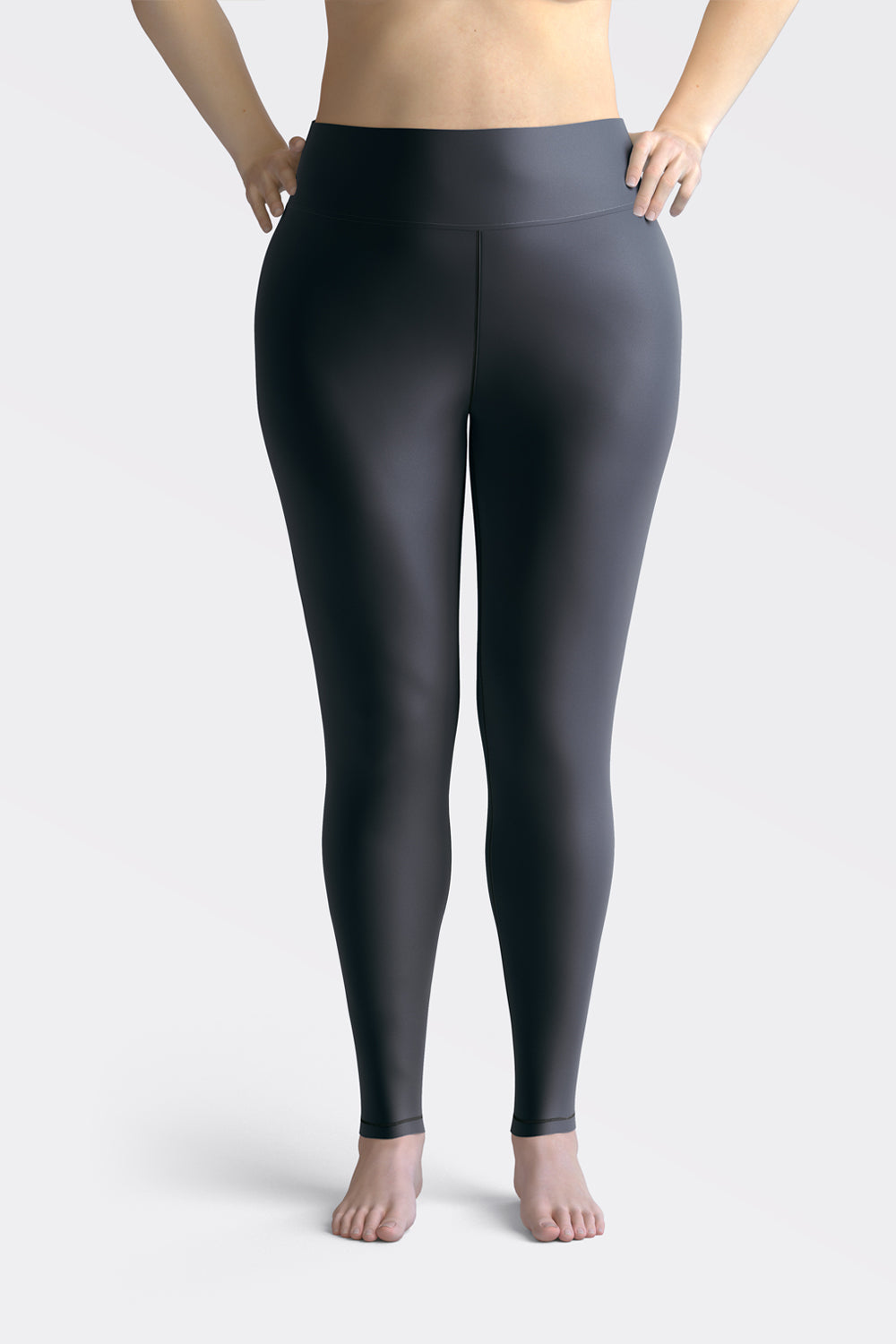 Navy Blue Super Curvy Leggings