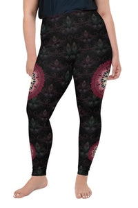 black-and-redish-pink-mandala-chic-super-curvy-leggings-shop