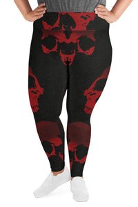 Halloween Red Death Super Curvy Leggings
