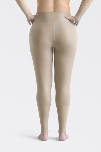 Sand Beige Super Curvy Leggings