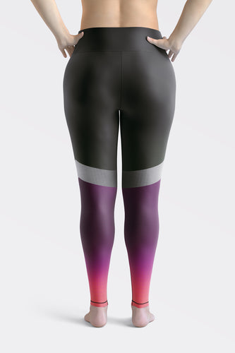 Shine Violet Super Curvy Leggings