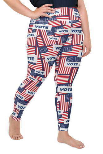 US Vote Super Curvy Leggings