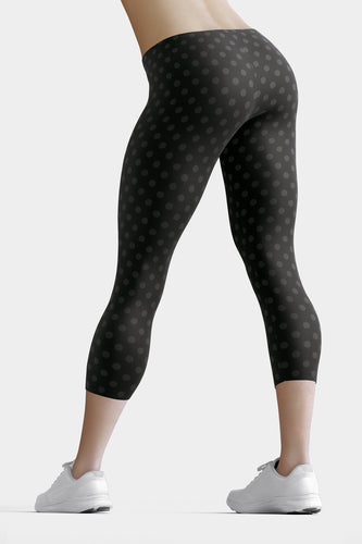 polka-dots-black-and-charcoal-gray-capri-leggings