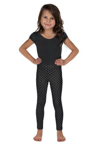 polka-dots-charcoal-gray-black-kids-leggings-girls