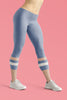 light-blue-cream-ivory-sporty-stripes-elegant-women-urban-capri-leggings