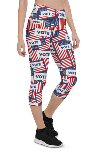 US Vote Urban Capri Leggings