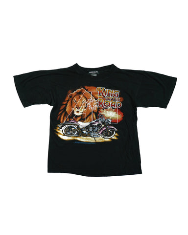 ALMOST HOME X KEISER CLARK VINTAGE BIG CAT TEE (XS)