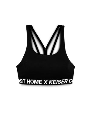 ALMOST HOME X KEISER CLARK WOMEN'S SPORTS BRA