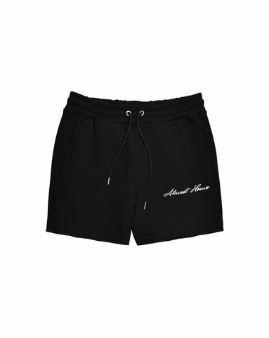 ALMOST HOME BLACK SWEATSHORT