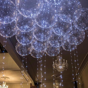 Reusable Led Helium Balloon Party Decorations