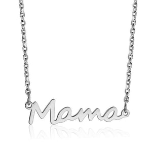 Mama Necklace Letter Necklace Gift for Mom Mother Jewelry Mother's Day Gift