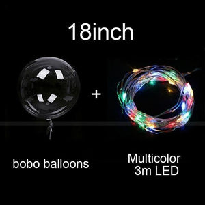 REUSABLE LED Balloons Home Party Decor