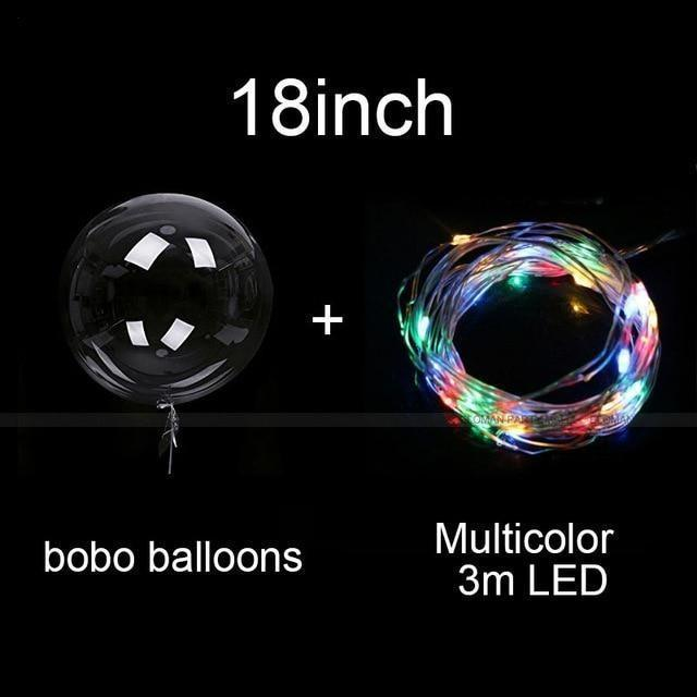 Reusable Led Balloon Girl Party Decorations