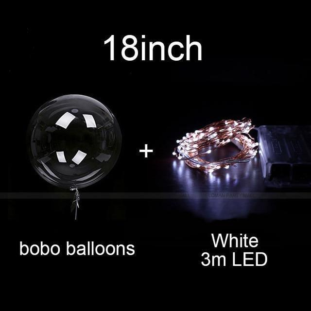 Reusable Led Bobo Balloon Party Decorations