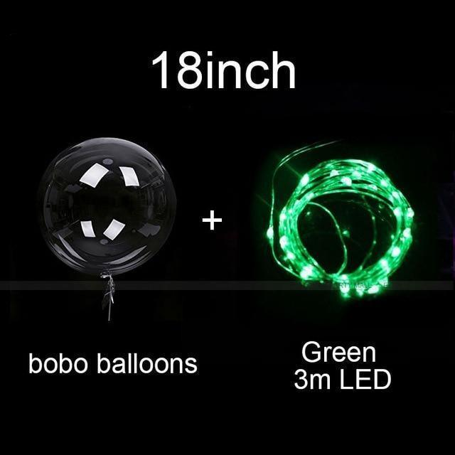 Reusable Led Color Balloon Party Decorations