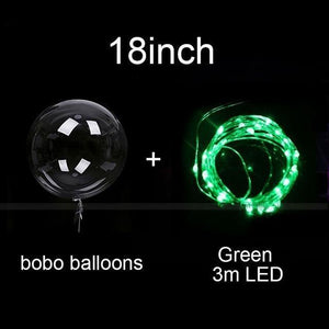 Reusable Led Happy Birthday Balloons Decor Ideas