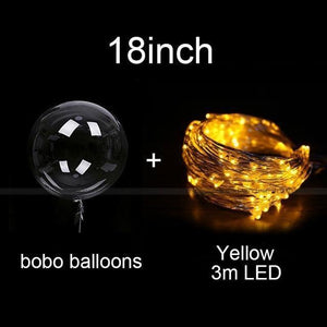 Reusable Led Bobo Balloons Ideas