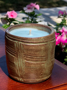 - Ceramic Candle - Country Clothesline