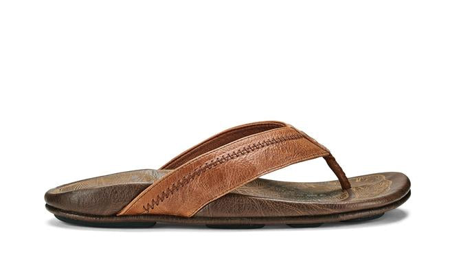 Olukai Men's Hiapo - rum/dark wood