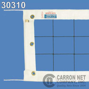 Carron Super Pro Volleyball Net 30310 - white