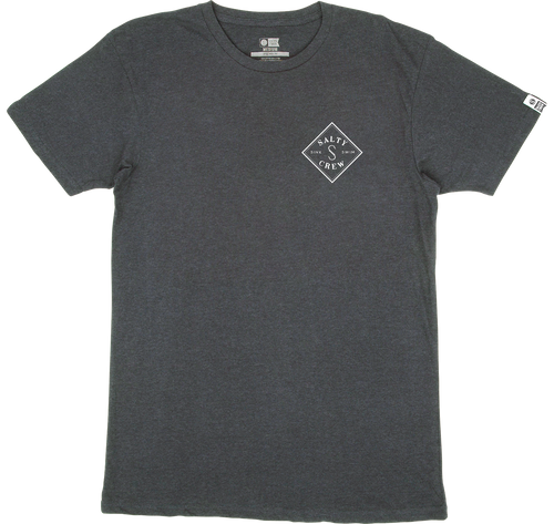 Salty Crew Men's Tippet Premium T-Shirt - charcoal heather