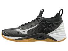 Load image into Gallery viewer, Mizuno Women's Wave Momentum Black/Silver 430260