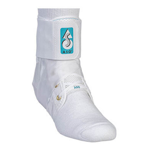 ASO Ankle Brace Stabilizer - white
