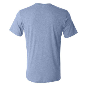 Los Gatos Men's Cali Bear T-Shirt - blue with white  logo