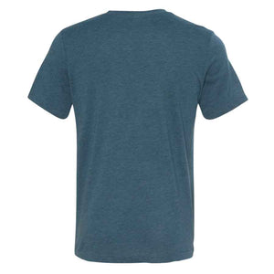 Los Gatos Men's Cali Bear T-Shirt - steel blue with white  logo
