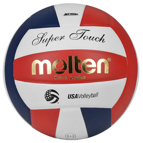Molten Super Touch Volleyball - red/white/blue