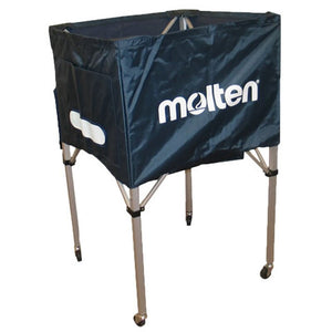 Molten Standard Square Ball Cart - blue
