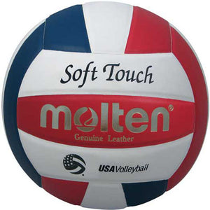 Molten Soft Touch Volleyball - red/white/blue