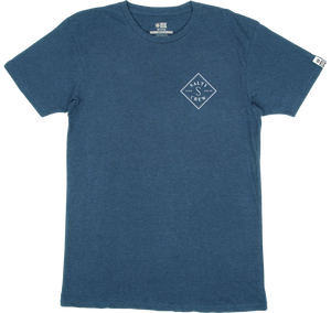 Salty Crew Men's Tippet Premium T-Shirt - harbor heather