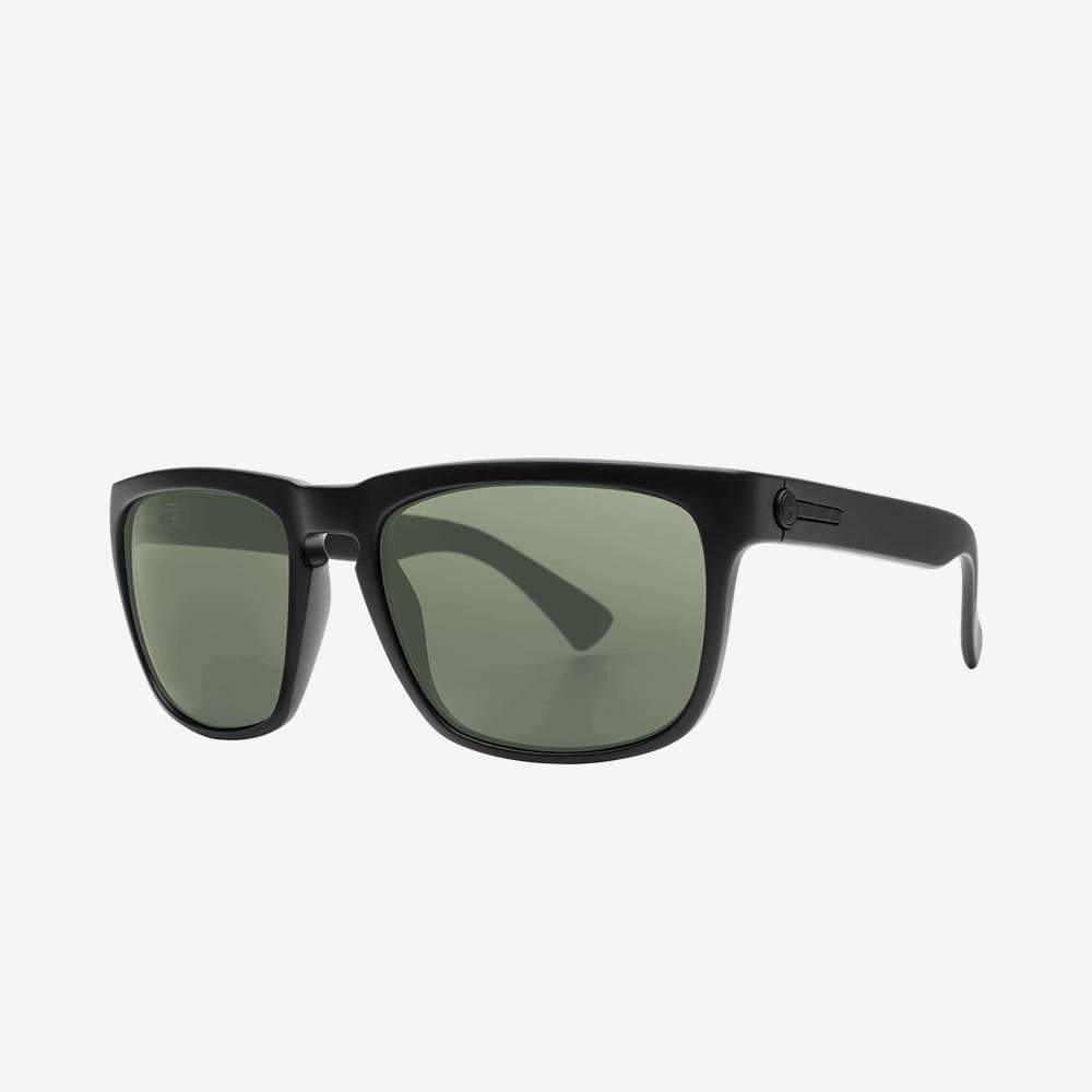 Electric Knoxville Sunglass - matte black - polarized grey